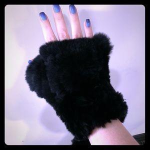 Real Rabbit Fur Gloves